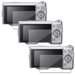 Screen Protector for Sony Alpha NEX-3/ NEX-5 (Pack of 3)