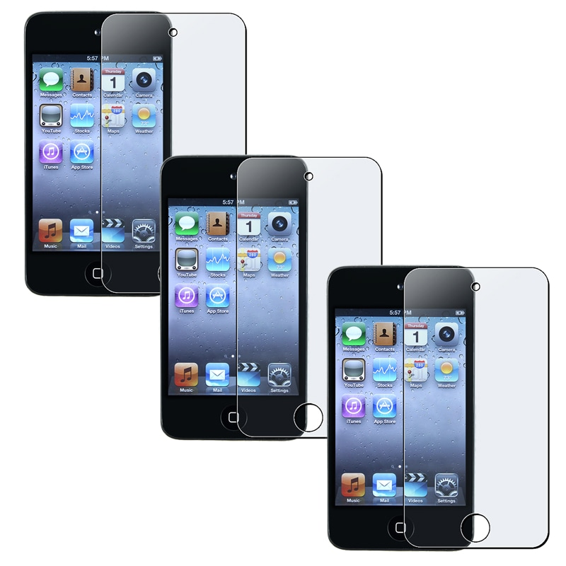 INSTEN Anti-glare Screen Protector for Apple iPod Touch 4th Generation (Pack of 3)
