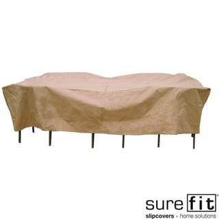 Sure Fit Original Rectangle Table/ Chair Set Cover
