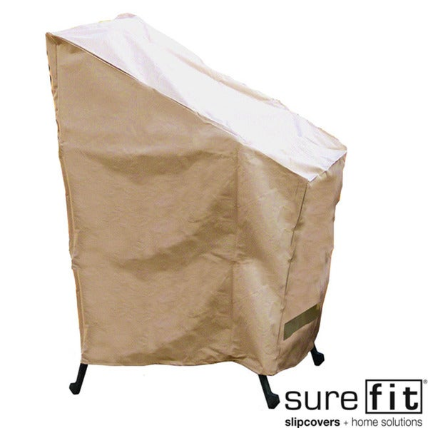 Sure Fit Stack of Chairs Cover
