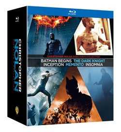 Christopher Nolan Director's Collection (Blu-ray Disc)