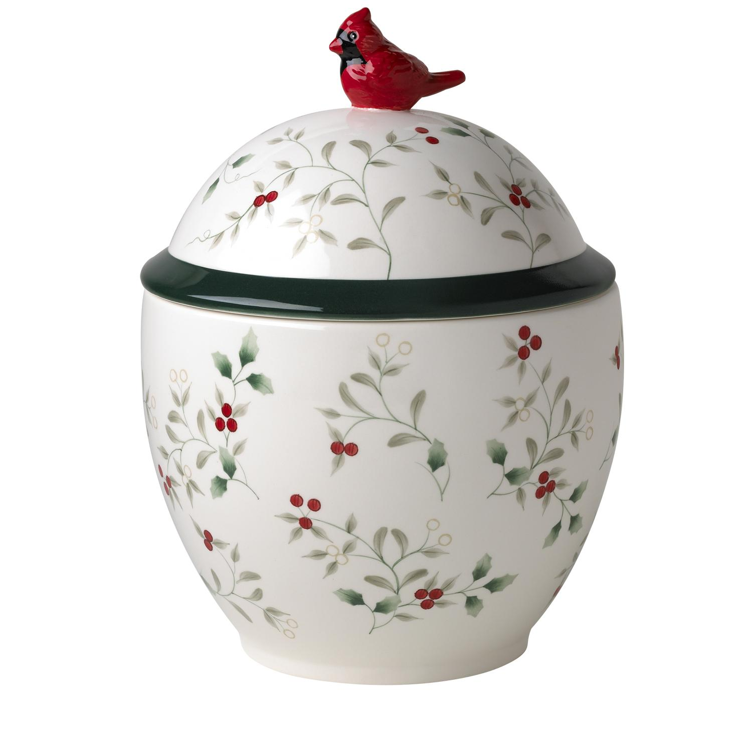 Pfaltzgraff Winterberry Earthenware Canister Set