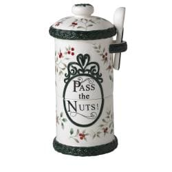 Pfaltzgraff 'Winterberry' 4-piece Stackable Nut Bowls Set