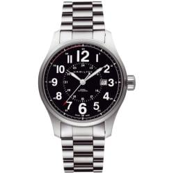 Hamilton Men's 'Khaki Field Officer' Stainless Steel Automatic Watch