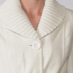 Ci Sono by Adi Juniors Shawl Collar Belted Coat