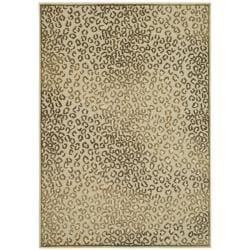 Safavieh Paradise Leopard Cream Viscose Rug (2'7 x 4')