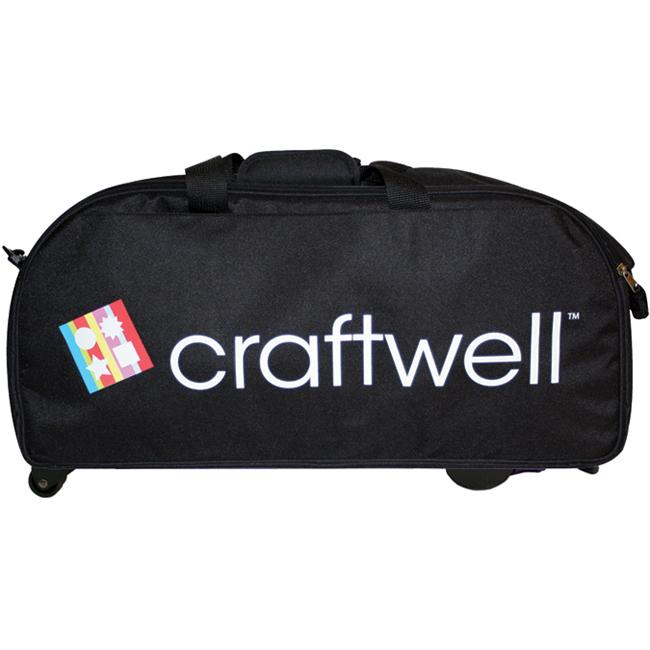 Craftwell eCraft BlackWheeled Travel Bag