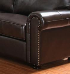 Abbyson Living London Premium Top-grain Leather Armchair