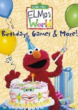 Elmo's World: Birthdays Games & More (DVD)