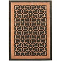 Metro Hand Made Deep Forest New Zeeland Blend Wool Rug (5' x 8')