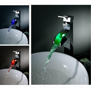 Sumerain LED Thermal Waterfall Bathroom Faucet