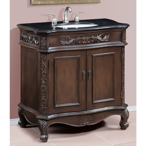 ICA Furniture Lucina Single Sink Bathroom Vanity