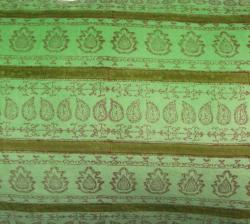 nuLOOM Handmade Ethnic Chic Green Decorative Pillow