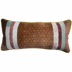 nuLOOM Handmade Ethnic Chic Multi Decorative Pillow