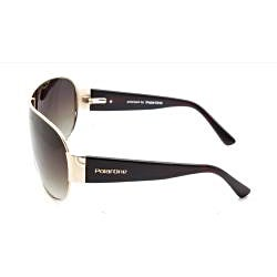 Polar One Women's 'P1-2010 C2' Polarized Fashion Sunglasses