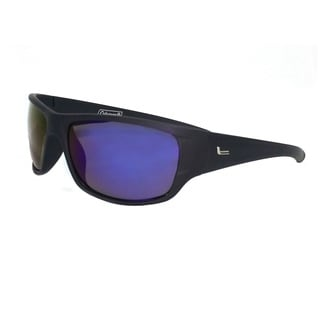 Coleman Mountaineer Black Full Frame With Mirror Lens Sunglasses