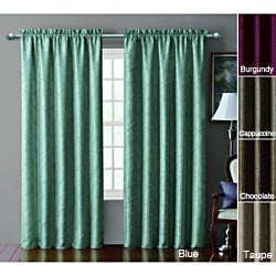 VCNY Sable Pintucked Taffeta Blackout 84-inch Curtain Panel