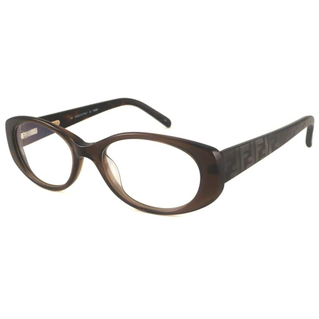 fendi readers s f907 brown oval reading glasses