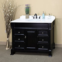 Bellaterra Home Espresso Finish 50-inch Vanity