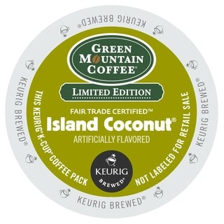 Green Mountain Coffee Island Coconut K-Cup for Keurig Brewers (48 count)