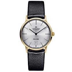 Hamilton Men's Intra-matic Goldtone Watch