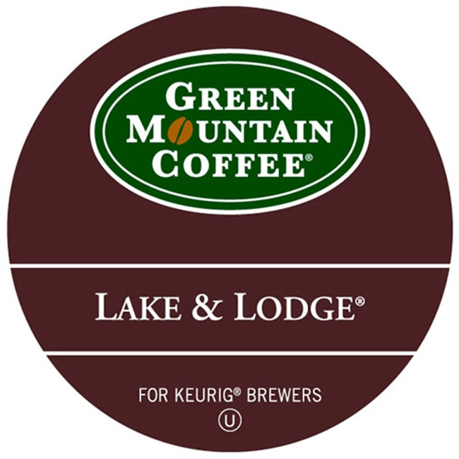 Green Mountain Coffee Lake and Lodge K-Cup for Keurig Brewers (Pack of 96)