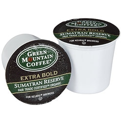 Green Mountain Coffee Fair Trade Organic Sumatran Reserve K-Cup for Keurig Brewers (Case of 96)