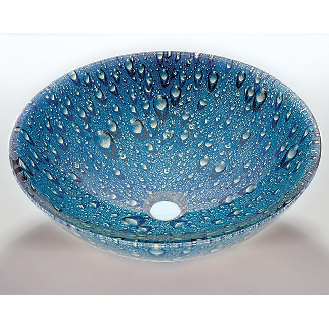 Glass Vessel Bowls : Blue Glass Sink Bowl - 14516988 - Overstock.com Shopping - Great Deals ...