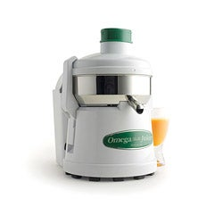 Omega 4000 Stainless-Steel 1/3-HP Continuous Pulp Ejection Juicer