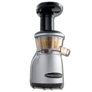 Omega Heavy Duty Dual-stage Vertical Single Auger Low Speed Juicer