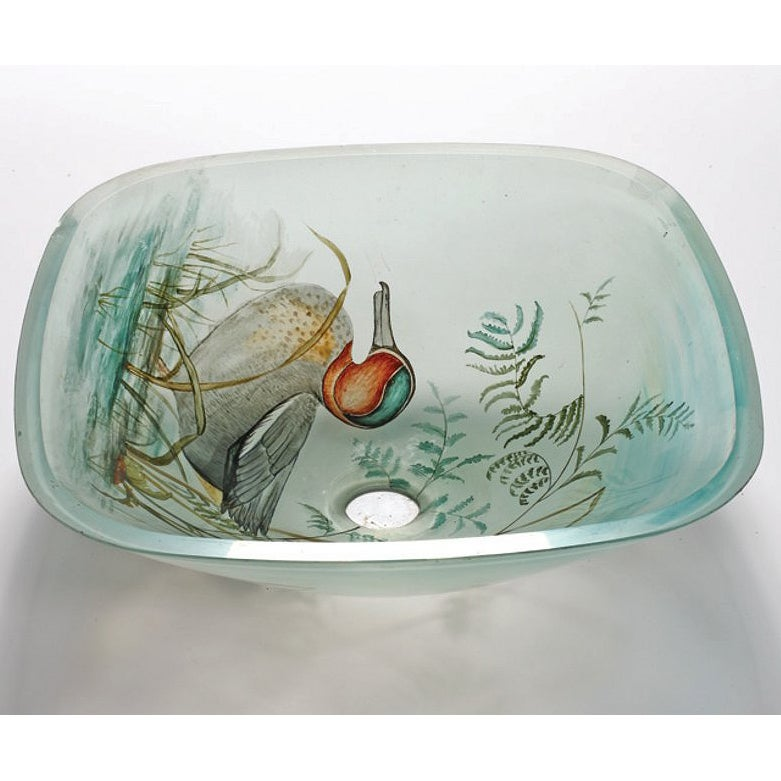 Com shopping great deals on premier copper products bathroom sinks - Duck Glass Sink Bowl 14516992 Overstock Com Shopping