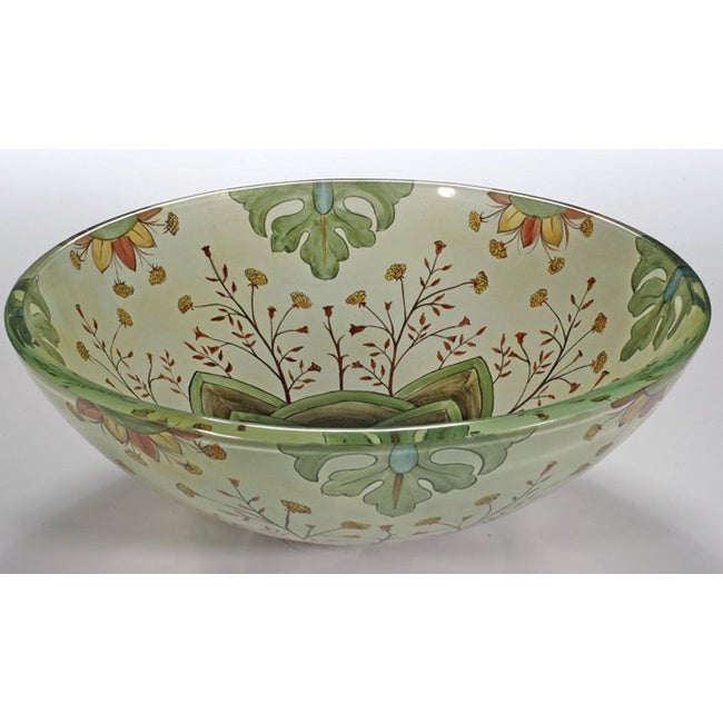 patterned glass sink bowl 14516986 shopping great
