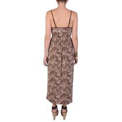 Journee Collection Juniors Smocked Waist Floral Print Spaghetti Strap Maxi Dress