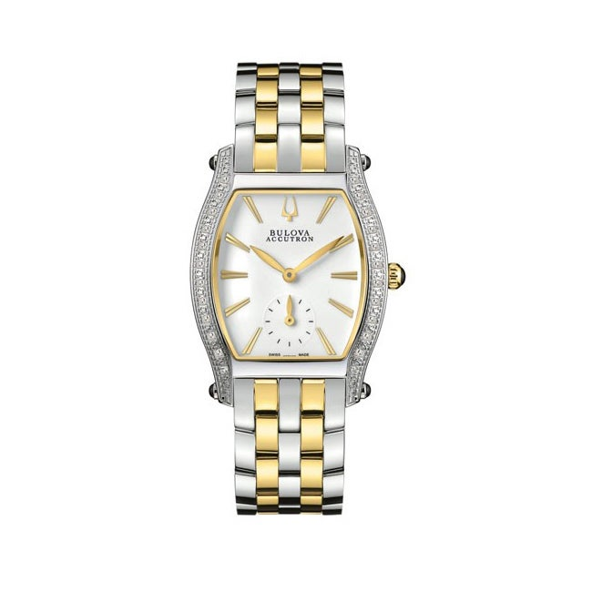 Accutron Women's Saleye Two-tone Stainless Steel Watch