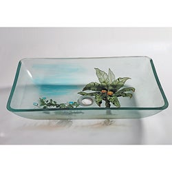 Square Glass Sink Bowl