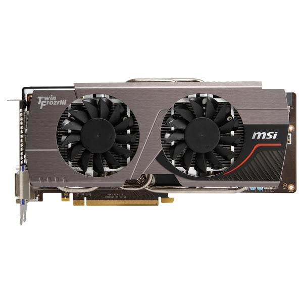 MSI N680GTX Twin Frozr 4GD5/OC GeForce GTX 680 Graphic Card - 1.06 GH