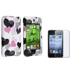 Rubber Case/ Screen Protector for Apple� iPod Touch Generation 2/ 3