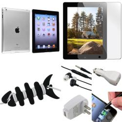 BasAcc Crystal Case/ Screen Protector/ Chargers/ Stylus for Apple� iPad 3/ 4