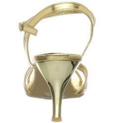 Celeste Women's 'Mari-01' Gold Sandal