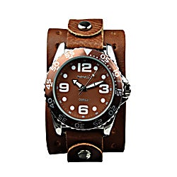 Nemesis Groovy Leather Band Watch