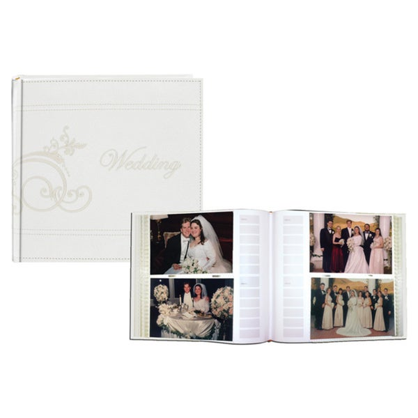 Pioneer Embroidered Scroll Sewn Leatherette Cover Photo Album Set