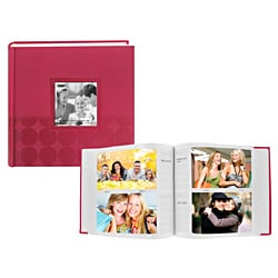 Pioneer Embossed Pink Frame Cover Photo Album Set
