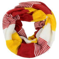 LA77 Women's Multicolor Large Stripe Scarf