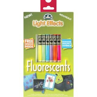DMC Light Effects Floss Pack 6/Pkg-Fluorescent