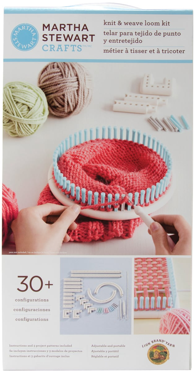 Martha stewart knitting loom - bing images.