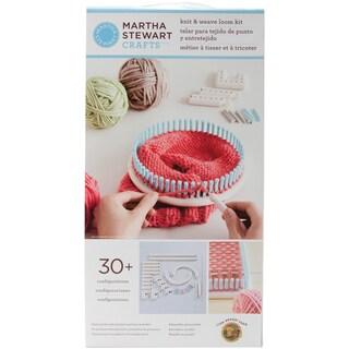 Martha Stewart Crafts Knit & Weave Loom-