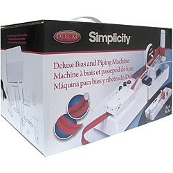 Simplicity Deluxe Bias & Piping Machine