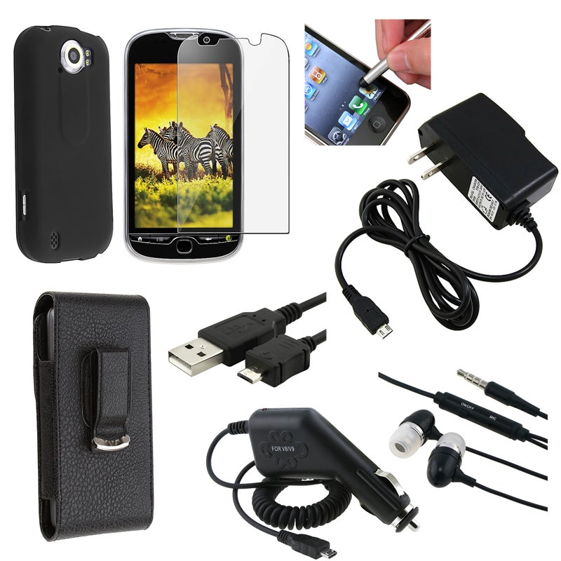 BasAcc Case/ Cable/ Headset/ Protector/ Chargers for HTC myTouch 4G Slide
