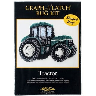 "Latch Hook Kit 28""X18-1/2""-Tractor"