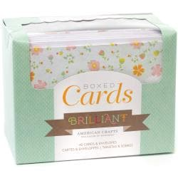 Box Of Patterned Cards With Envelopes 4